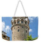 Galata Tower Landmark In Istanbul Turkey Weekender Tote Bag