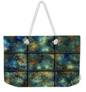Galaxies II Weekender Tote Bag by Betsy Knapp