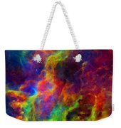 Galaxy Lights Weekender Tote Bag