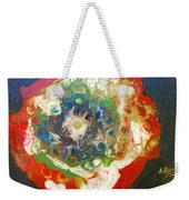 Galaxy With Solar Systems Weekender Tote Bag