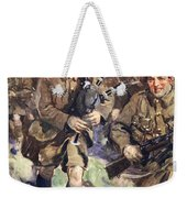 Gallant Piper Leading The Charge Weekender Tote Bag by Cyrus Cuneo