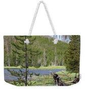 Gallatin River Yellowstone  Weekender Tote Bag