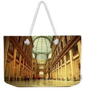 Galleria Umberto I  Naples Italy Weekender Tote Bag