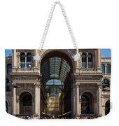 Galleria Vittorio Emanuele. Milan Weekender Tote Bag