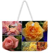 Beautiful Roses- A Collage Weekender Tote Bag