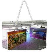 Gallery Top Weekender Tote Bag