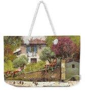 Galline Weekender Tote Bag by Guido Borelli