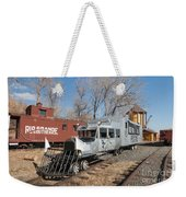 Galloping Goose 7 In The Colorado Railroad Museum Weekender Tote Bag