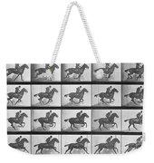 Galloping Horse Weekender Tote Bag by Eadweard Muybridge