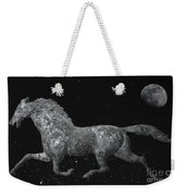 Galloping Through The Universe Weekender Tote Bag