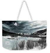 Galvanize Weekender Tote Bag by Jeremy Rhoades