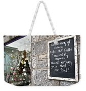 Galway Fight The Frills Weekender Tote Bag