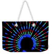 Gama Ray Light Burst Abstract Weekender Tote Bag