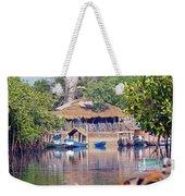 Gambian Fishing Village Weekender Tote Bag