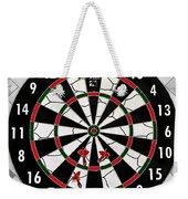 Game Of Darts Anyone? Weekender Tote Bag by Kaye Menner
