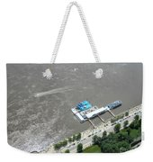 Gaming On The River Boats Weekender Tote Bag