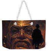 Gandhi - The Walk Weekender Tote Bag