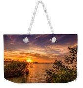 Gandy Sunset Weekender Tote Bag