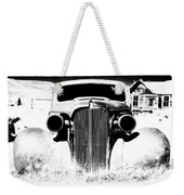 Gangster Car Weekender Tote Bag by Cat Connor
