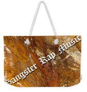 Gangster Rap Music Weekender Tote Bag