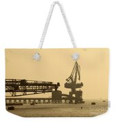 Gantry Crane In Port Weekender Tote Bag