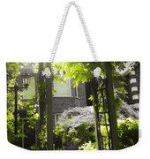 Garden Arbor In Sunlight Weekender Tote Bag by Elena Elisseeva