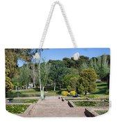 Garden At Montjuic In Barcelona Weekender Tote Bag