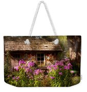 Garden - Belvidere Nj - My Little Cottage Weekender Tote Bag by Mike Savad