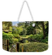 Garden Bridge Weekender Tote Bag