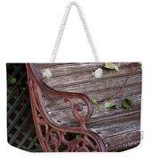 Garden Chair Weekender Tote Bag