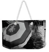 Garden Chaise Lounge Weekender Tote Bag