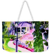 Garden City Gazebo Weekender Tote Bag