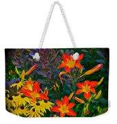 Garden Color Delight Weekender Tote Bag