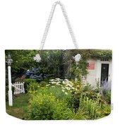 Garden Cottage Weekender Tote Bag by Bill Wakeley