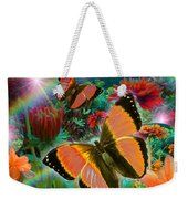 Garden Day Weekender Tote Bag by Alixandra Mullins