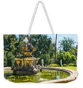 Garden Fountain - Iconic Fountain At The Huntington Library And Botanical Ga Weekender Tote Bag