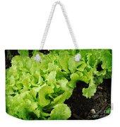 Garden Fresh Baby Lettuce And Lady Bug Weekender Tote Bag