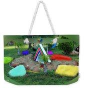 Garden Galaxy Weekender Tote Bag