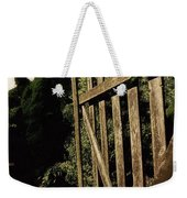 Garden Gate Welcome Weekender Tote Bag