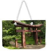 Garden Gateway Weekender Tote Bag