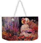 Garden Girl Weekender Tote Bag