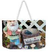 Garden Gnome - Square Weekender Tote Bag
