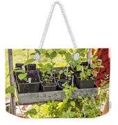 Garden Herb Nursery Weekender Tote Bag