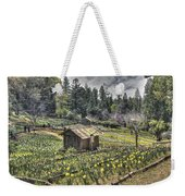 Garden Houses On Daffodil Hill  Weekender Tote Bag