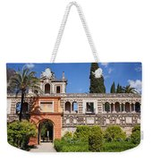 Garden In Alcazar Palace Of Seville Weekender Tote Bag