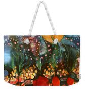 Garden In Moonlight Weekender Tote Bag