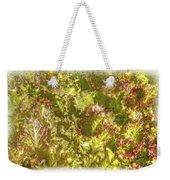 Garden Lettuce - Green Gold Weekender Tote Bag