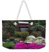Garden Miniature Train Weekender Tote Bag