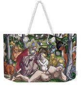 Garden Of Eden Historiae Animalium Weekender Tote Bag
