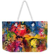 Garden Of Heavenly And Earthly Delights Weekender Tote Bag